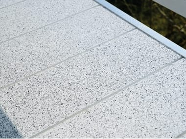 Anti-slip outdoor floor tiles TOPERO® NORMAL PANEL