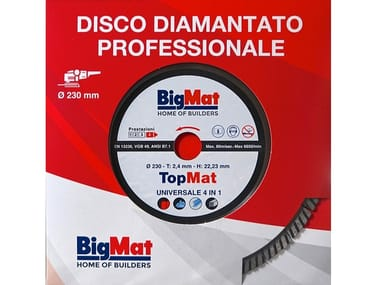 Disco diamantato TOPMAT