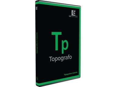 Topographic, land registry, land modelling survey TOPOGRAFO