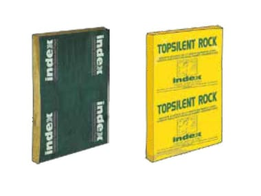 Rock wool Thermal insulation panel TOPSILENTRock