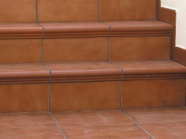 Porcelain stoneware edge profile for floors TORELO