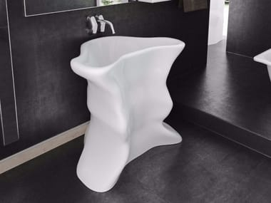 Lavabo freestanding singolo in Adamantx® TORERO