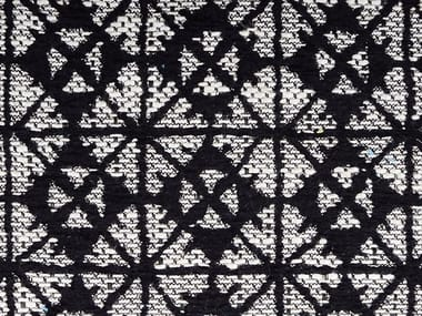 Jacquard fabric with graphic pattern TORINO 06 COLOR GEO