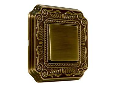 Brass wiring accessories FIRENZE