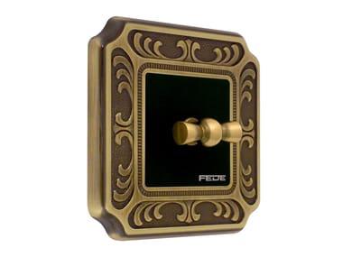 Brass wiring accessories SIENA