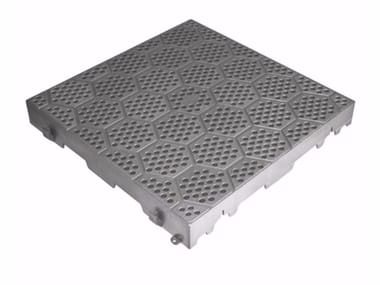 Perforated tile for garden TOTALLY PERFORATED TILE