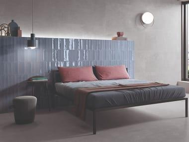 Porcelain stoneware wall/floor tiles with resin effect TOTALOOK BLU AVIO