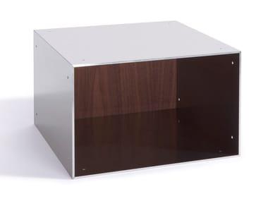 Open aluminium wall cabinet TOTEM | Wall cabinet