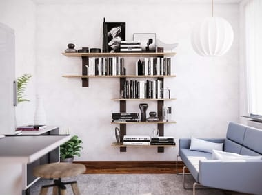 Wall-mounted bookcase TOWER