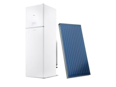 Basamento combinate con bollitore solare TOWER GREEN HE S 35/200 BSI