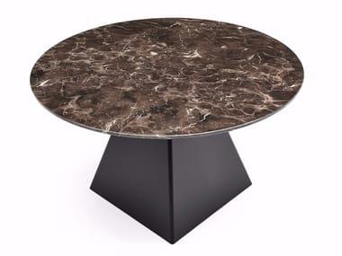 Mesa redonda de mármore TOWER | Mesa