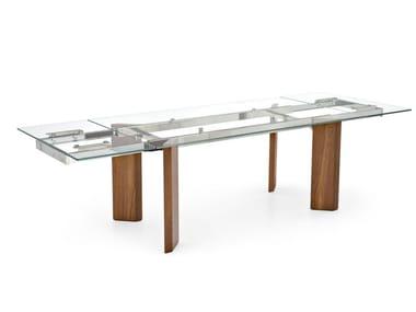 Tavoli allungabili in legno e vetro | Archiproducts