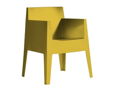 Stackable polypropylene chair TOY