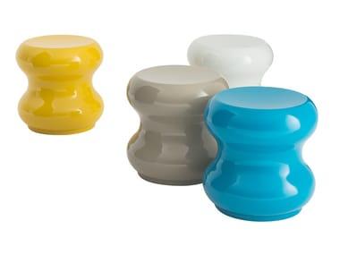 Pouf rotondo in fibra di vetro TOY | Pouf
