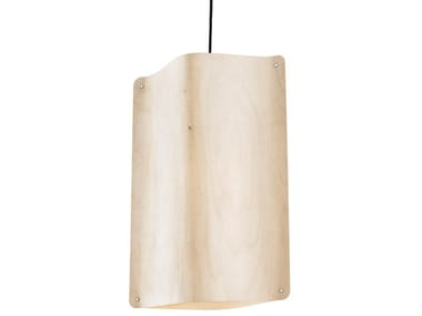 Lampada a sospensione a LED in multistrato TALL PENDANT MEDIUM