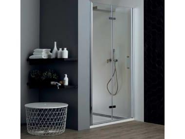 Box doccia a nicchia con porta a soffietto TPS35 | Box doccia a nicchia