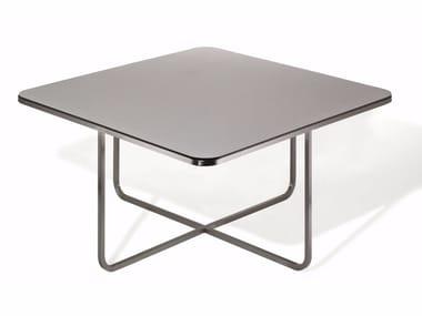 Square laminate garden table TQ150L