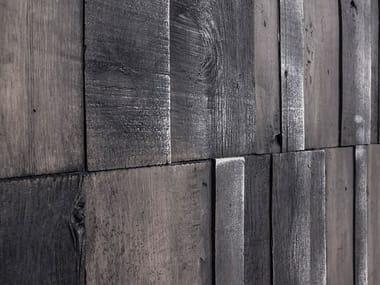 Rivestimento tridimensionale in fibra di vetro effetto legno TRÄD