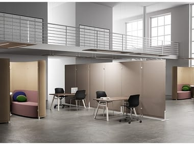 Office workstation for open space TRÈS | Office workstation for open space