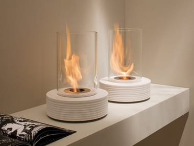 Bioethanol marble fireplace TRACK