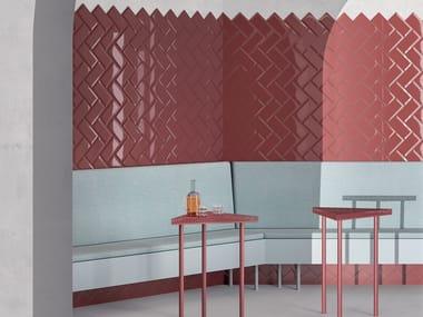 Indoor wall tiles TRASPARENZE BISELLO Lucido
