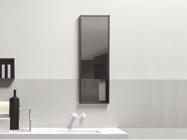 Espejo rectangular de pared para baño TRATTEGGIO