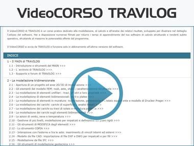 Videocorso di progettazione strutturale VideoCORSO TRAVILOG