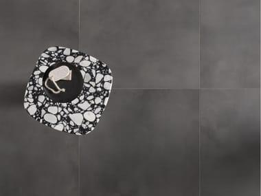 Glazed stoneware flooring TRAX