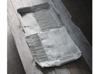 Rectangular ceramic tray TRAY