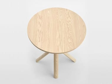 Round ash table TREE | Wooden table