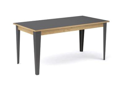Tavolo rettangolare in legno TREE | Tavolo rettangolare