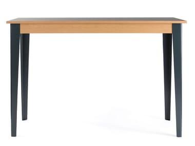 Tavolo alto rettangolare in laminato TREE | Tavolo in laminato