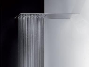 Tête de douche mural rectangulaire extraplat TREMILLIMETRI | Tête de douche