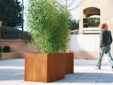 Corten™ Flower pot TRENDY | Flower pot