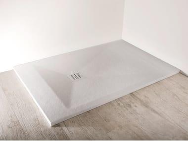 Rectangular shower tray TRENTAMILLIMETRI