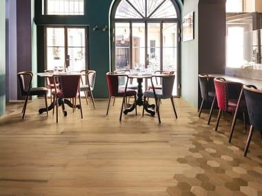 Pavimento in gres porcellanato effetto legno TREVERKLIFE