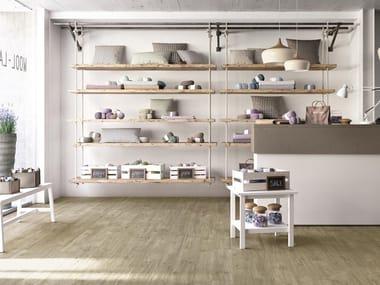 Pavimento in gres porcellanato effetto legno per interni ed esterni TREVERKWAY | Olmo