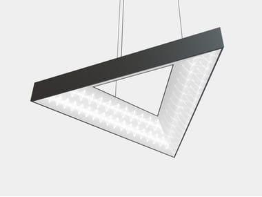 LED aluminium pendant lamp TRIANGLE
