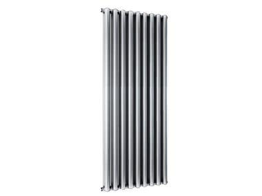 Termoarredo di design a sviluppo verticale TRIBECA 1600 - 9 ELEMENTI SILVER