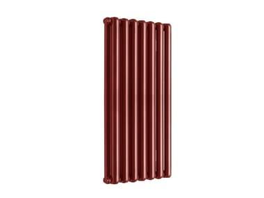 Termoarredo di design a sviluppo verticale TRIBECA 600 - 7 ELEMENTI RUBINO