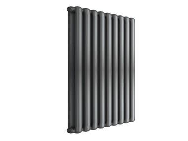 Termoarredo di design a sviluppo verticale TRIBECA 800 - 9 ELEMENTI ARDESIA