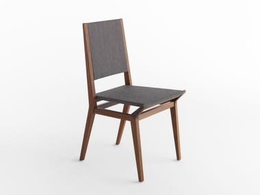 Walnut chair TRIBECA