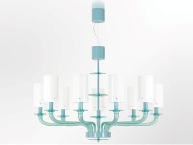Murano glass chandelier TRIBECA