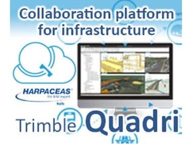 Collaboration platform for infrastructure TRIMBLE QUADRI