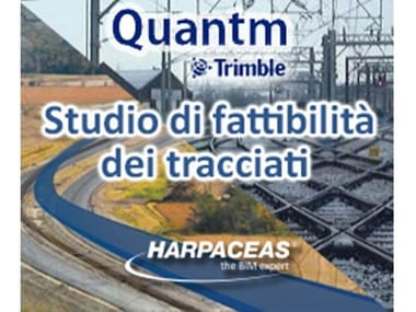 Road and railway design TRIMBLE QUANTM