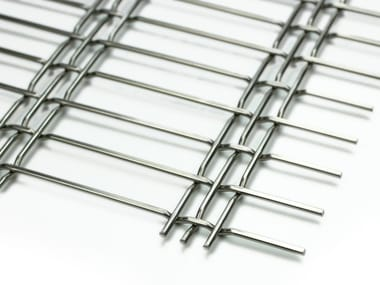 Stainless steel Metal fabric and mesh TRIPLE 75