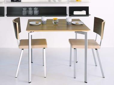 Tavoli allungabili in legno impiallacciato   Archiproducts