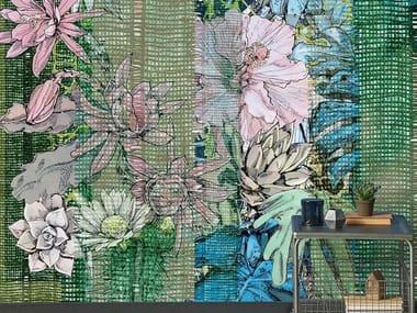 Papel de parede lavável de flores TROPIC OF CAPRICORN