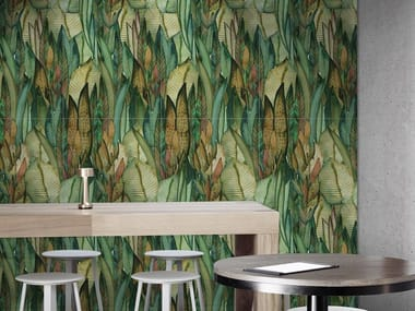 Indoor porcelain stoneware wall tiles TROPICAL PAINT