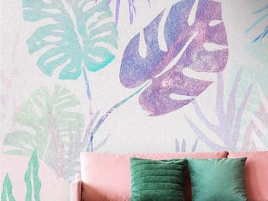 Tropical wallpaper, eco-friendly, PVC free and washable TROPICAL PEARL